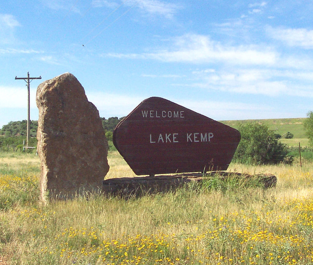 lakekempsign