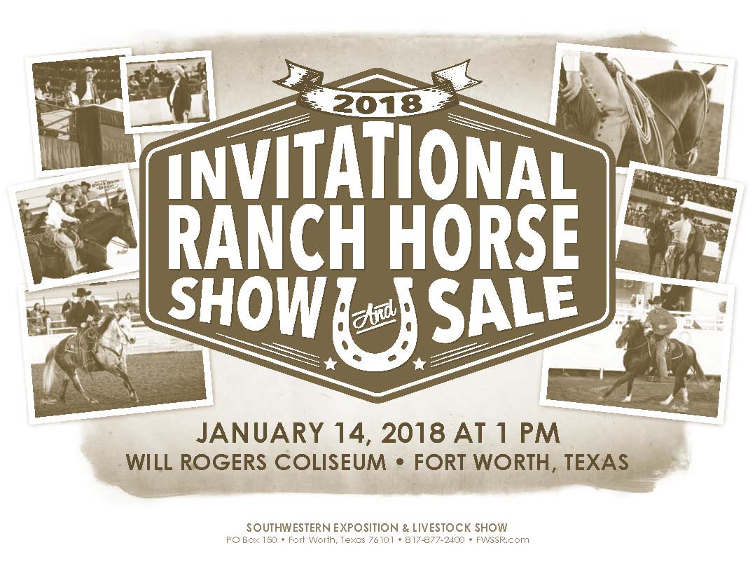 Invitational Ranch Horse Sale
